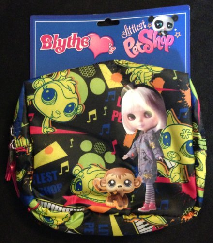 Blythe Loves Littlest Pet Shop Rock Music Cosmetic Case by Hasbro