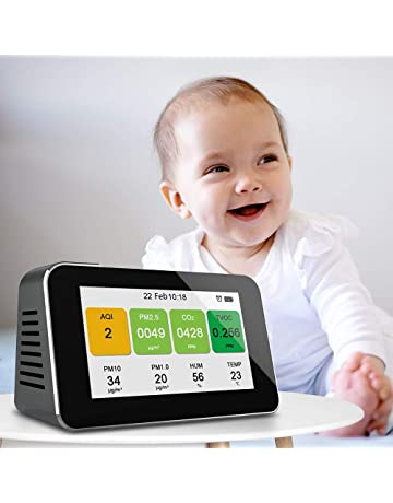 Medidores de calidad de aire interior | Amazon.es