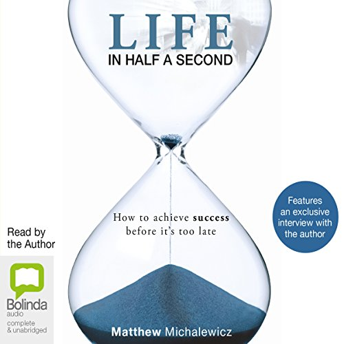 Life in Half a Second audiobook cover art