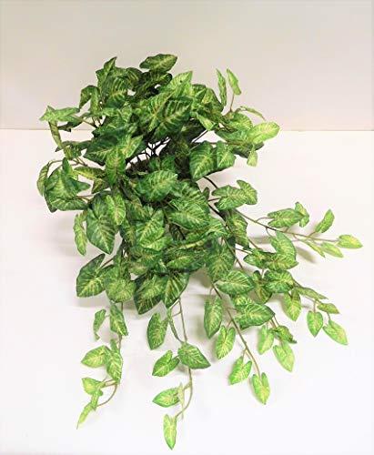 Ziegler Pothos Rankpflanze Grünpflanze Busch Kunstpflanze 150121GN getopft F70