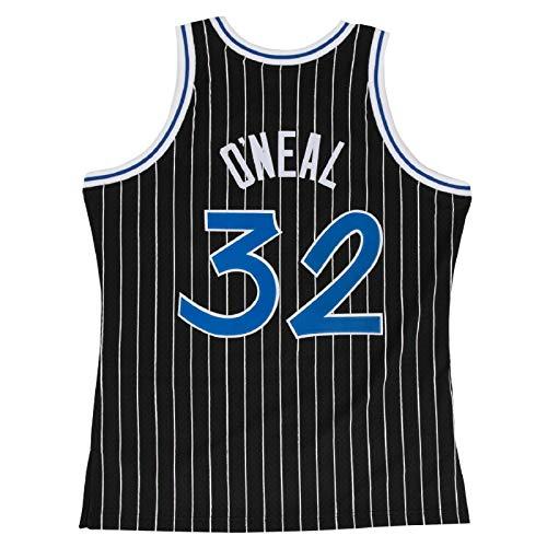 Men's #32_O'Neal Throwback Swingman Basketball Jersey - Black XL