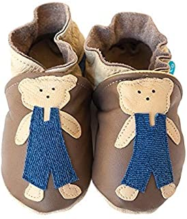 product image for TEDDY Handmade in USA, All-Natural Leather Baby Shoes.