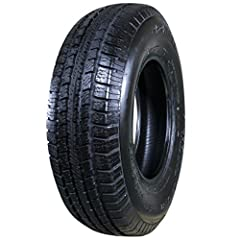 A dependable radial tire that is perfect for carrying the load on utility trailers, boat trailers, and recreational vehicles. Double polyester cord body and double steel belt construction provides high-class strength and handling Nylon tread-firming ...