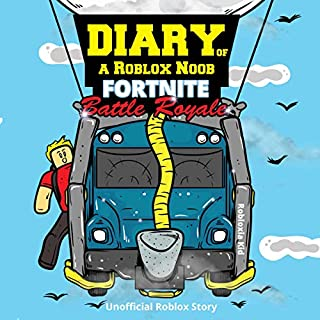 Diary of a Roblox Noob audiobook cover art