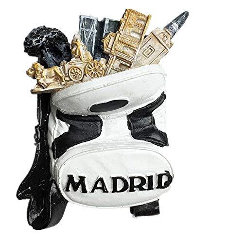 3D Madrid Spanien Souvenir Kühlschrank Magnet, Home & Küche Dekoration Madrid Spanien Kühlschrank Magnet