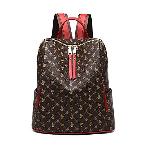 Werbeartikel Limitierte Schultasche Leder Rucksack Damen Retro Handtaschen Reisebuch Damen One-Shoulder Casual
