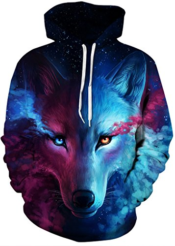 Men's Galaxy Print Sweatshirt