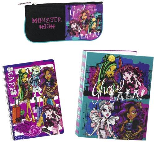 Monster High–Set Cadeau, 3pièces, 28x 35cm...