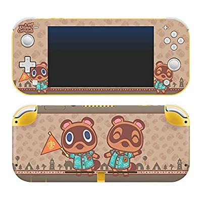 """Controller Gear Authentic and Officially Licensed Animal Crossing: New Horizons - """"Timmy & Tommy"""" Nintendo Switch Lite Skin"""