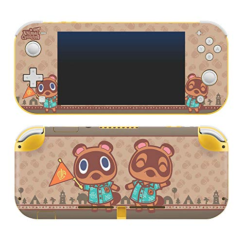 Controller Gear Authentic and Officially Licensed Animal Crossing: New Horizons - Timmy & Tommy - Nintendo Switch Lite Skin - Nintendo Switch