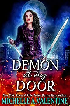 Demon at My Door (The Collectors Book 1) by [Michelle A. Valentine]