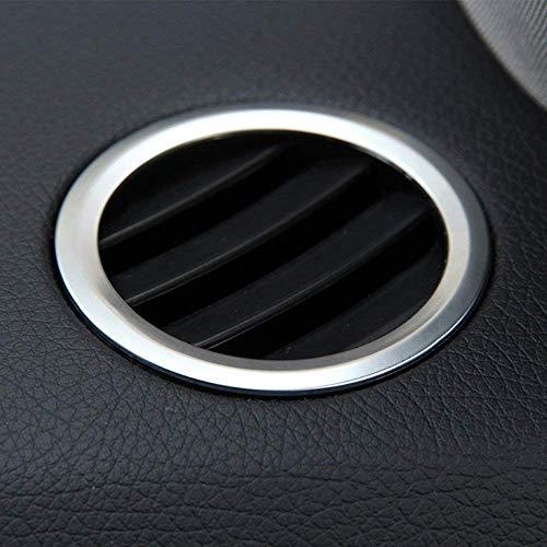 AUTO Pro Für GLK X204 ML W124 GL X164 Carbon ABS Chrom Innendekoration Klimaanlage Auslass Zubehör Rahmen Abdeckung Trim Aufkleber