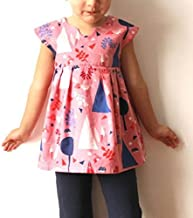 Made By Rae Girls Sewing Pattern Geranium Dress