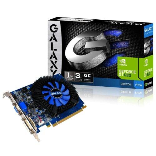 GALAX GeForce GT630 GC 1 GB DDR3 GeForce GT 630 1 GB GDDR3 Grafikkarten (GeForce GT 630, 1 GB, GDDR3, 128 Bit, 2560 x 1600 Pixel, PCI Express 2.0)