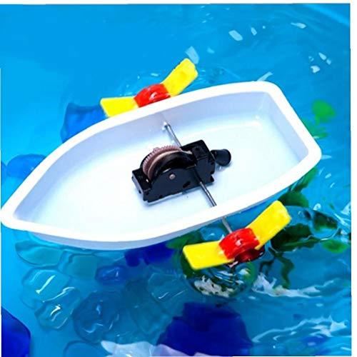 BYFRI 1 Satz DIY Wissenschaft Technologie Technik Experimente Spielzeug Raddampfer Frühe Pädagogische Baby-Kind-Spiel
