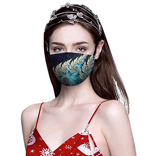 1PC Atmungsaktiver Stoff für Mund und Nase-Multifunktionstuch für Erwachsene Anti-Staub-Erntedank-Mund-Stoff-Taschenmasken-Mundbedeckung für Mann und Frauen