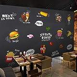Papel tapiz 3D personalizado mural europeo y americano pintado a mano tienda...