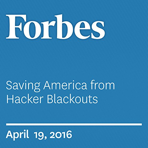 『Saving America from Hacker Blackouts』のカバーアート