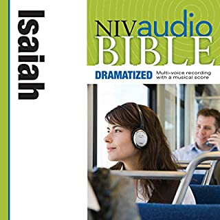 NIV Audio Bible: Isaiah (Dramatized) cover art