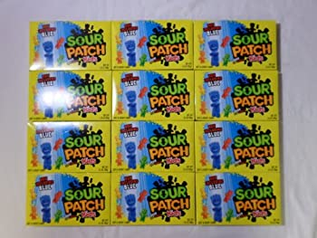Sour Patch Kids Soft & Chewy Candy  12 Packs of 3.5 Oz