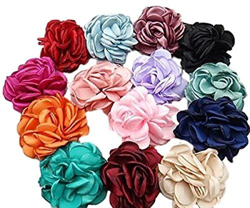 Fashion Jewery Haarschmuck Kopfschmuck Haarblume Blumen Haarspange Damen Accessoires Flower Blüten mit Sicherheitsnadeln (Fruit Green)