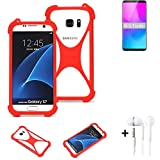 K-S-Trade® Mobile Phone Bumper + Earphones For Nubia Z18