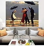 Y-fodoro Rompecabezas de Rompecabezas de Edward Hopper, Adultos Bailando Pintura al óleo Rompecabezas de Madera de 1000 Piezas, Regalo de cumpleaños para niños Adultos