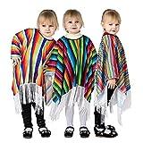 Lsooyys Fiesta de fiesta ropa de estilo étnico capa de estilo de vacaciones para niños capa de ropa personalizada (1 foto)