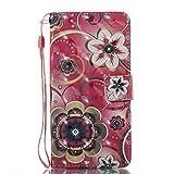 Phcases Handyhülle für Samsung Galaxy J520 Hülle Brieftasche Klapphülle mit