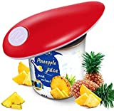 Electric Can Opener, Restaurant Can Opener Smooth Edge Automatic Electric Can Opener- No Sharp Edge, Food-Safe