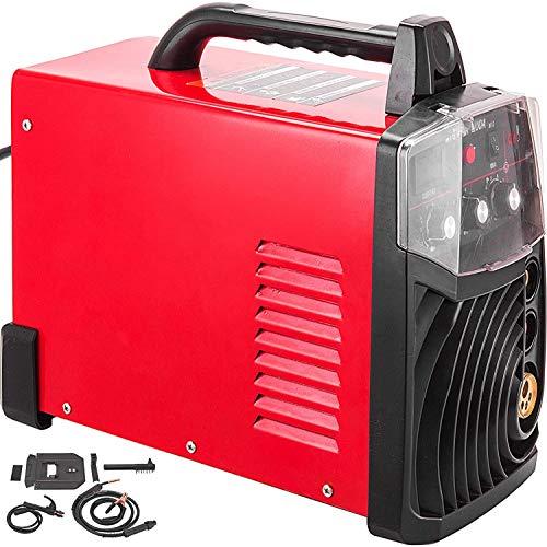 Mophorn MIG Welder 200 Amp, MIG Welding Machine 220V Voltage, MIG MAG Arc MMA Stick Multifunction DC Welder, IGBT Inverter Welding Soldering Machine MIG Stick Welder (MIG 200 Amp 220V)