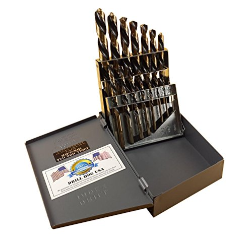 Drill Hog Left Handed Drill Bit Set Screw Extractor EZ-OUT