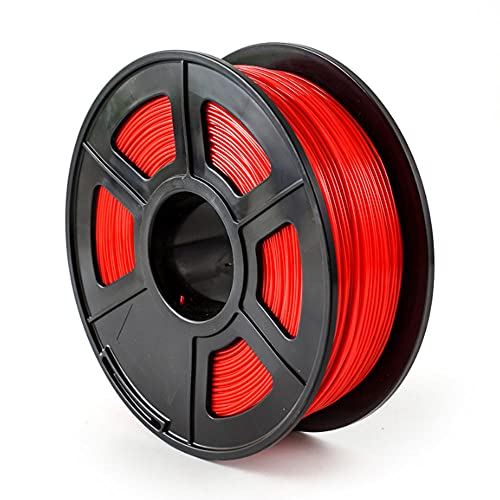 ABS-FR Filament 1.75mm Flame-Retardant ABS Material Improved Version of ABS 3d Printer Filament 0.8kg-red_1.75mm