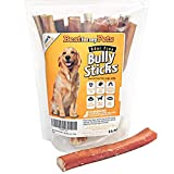 Bully Sticks Odor-Free - 6-Inch All-Natural Dog Treats Premium Beef...