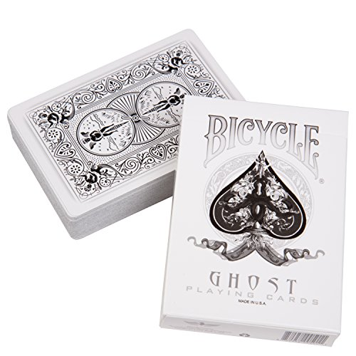 Bicycle Ghost Playing Cards Deck by Ellusionist (Japan Import)