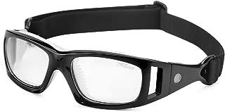 Gafas de Deporte, Adultos Gafas Protectoras Niño Gafas de Seguridad Deportiva Adjustable para los Amantes de Fútbol Baloncesto Tenis