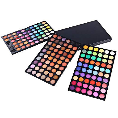 SKFG® 180 couleurs maquillage Set Professional Kit de maquillage Set Box eyeshombres nus couleurs fard à paupières palette végétalienne yeux palette fonction maquillage