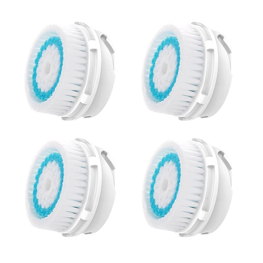 Facial Cleansing Brush Replacement In a popularity Max 44% OFF Br Heads Deep Pore