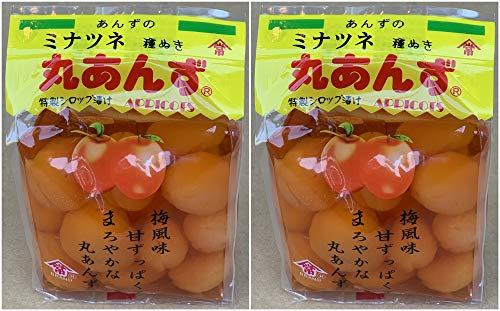 ミナツネ 種ぬき丸あんず 500g×2個