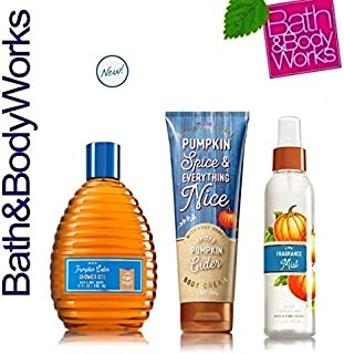 pumpkin spice and everything nice bath and body works