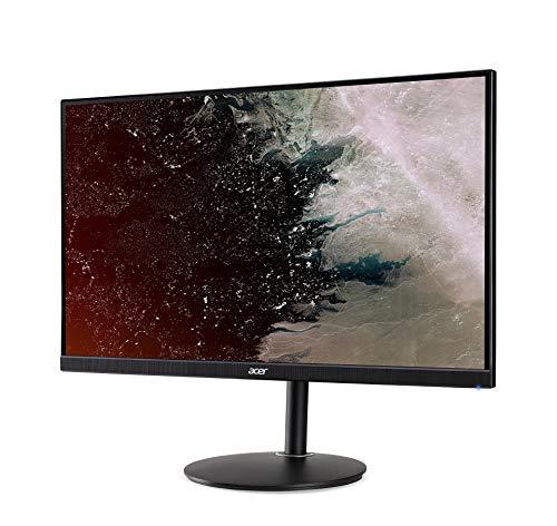 Acer Nitro XF2 (Nitro XF272UP) 69 cm (27 Zoll) TN ZeroFrame Monitor Matt (2xHDMI, DP, USB Hub 3.0, WQHD 2560×1440, 1ms GTG, 144Hz, bis zu 400 Nits, HDR, Pivot, Delta E<2, Höhenverstellbar, FreeSync) - 3