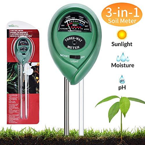 You's Auto Soil Moisture Sensor Meter,3 in1 PH Tester Soil...