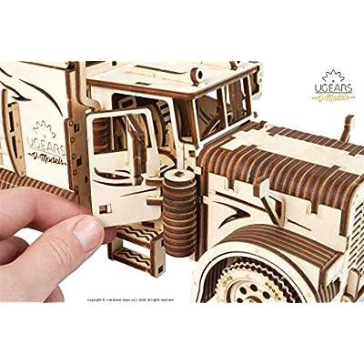 ... Miniature Plywood DIY Model Heavy Boy Truck Model UGears Truck DIY Kit