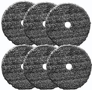 Almofada de fibra URO brilhante para composto e polimento - 15 cm (6 blocos)