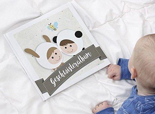 Geschwisteralbum - Erinnerungsalbum - Babybuch