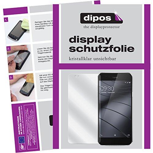 dipos I 6X Schutzfolie klar kompatibel mit Gigaset ME Pro Folie Bildschirmschutzfolie (3X Vorder- und 3X Rückseite)