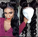 Best Lace Front Wigs - Loose Wave Lace Front Wigs Glueless Natural Hairline Review