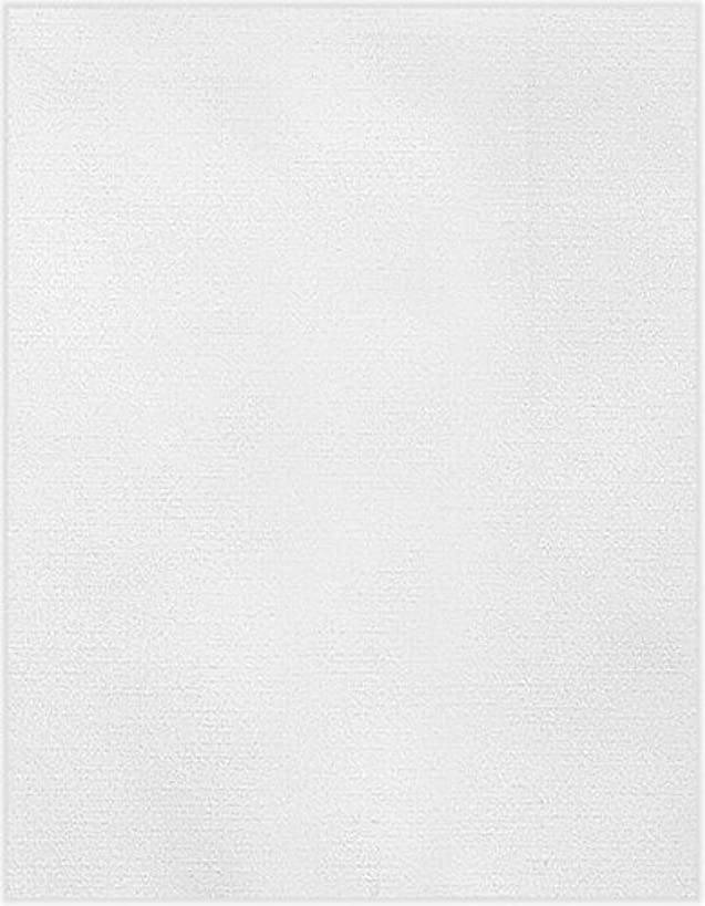 8 1/2 x 11 Cardstock - White Linen (250 Qty.) | Perfect for Printing, Copying, Crafting, various Business needs and so much more! | 81211-C-90-250