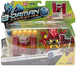 New Boy B-Daman Crossfire Battle Action Figure - Red