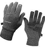 HEAD Multi-Sport Running Gloves with SensaTEC-Heather Grey (Large)